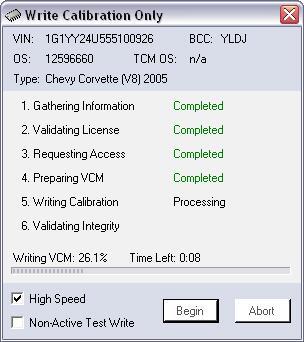 Write VCM