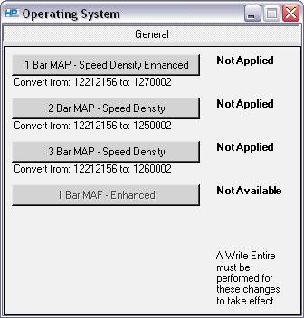 GM > Operating System